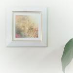 壁に飾ったイメージ