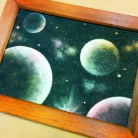 宇宙アート1
