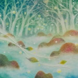 川の流れる森