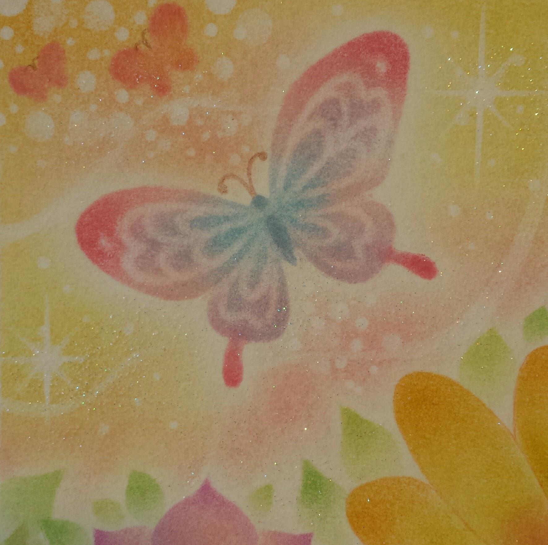 希望へと舞う蝶