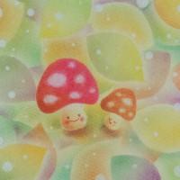 きのこファンタジー(塗りver) ★★★★☆