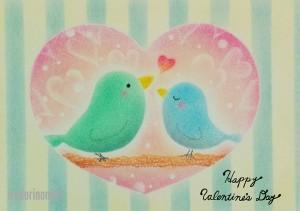 バレンタイン鳥