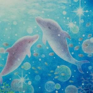 イルカと輝きの海