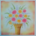 花瓶の花 ★★★☆☆