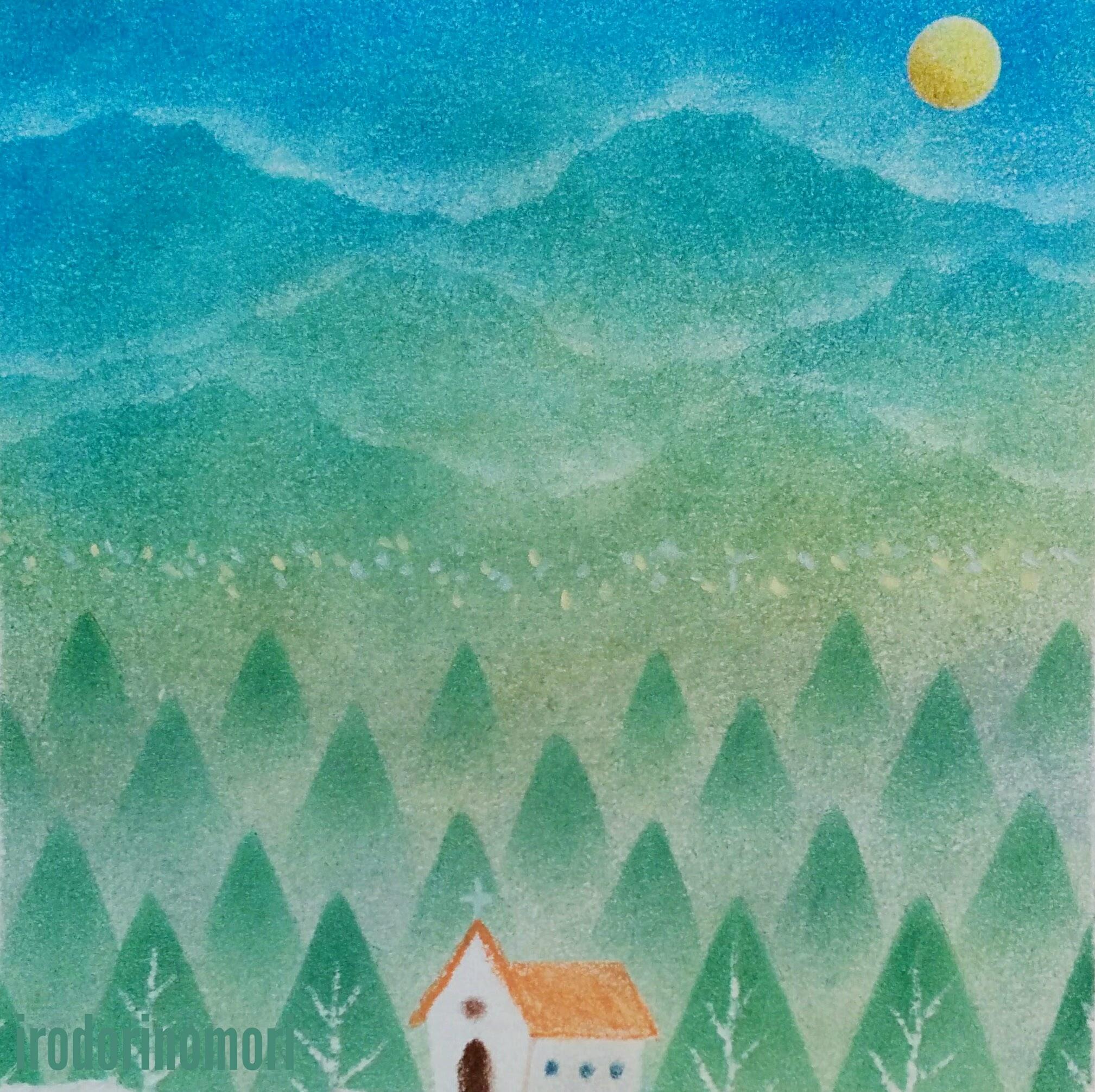 悠久の山と森の教会 A