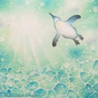 ⑮空飛ぶペンギン 3000円